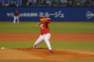 Hiroki Kuroda [NPB Hiroshima Toyo Carp] 05/01/2015