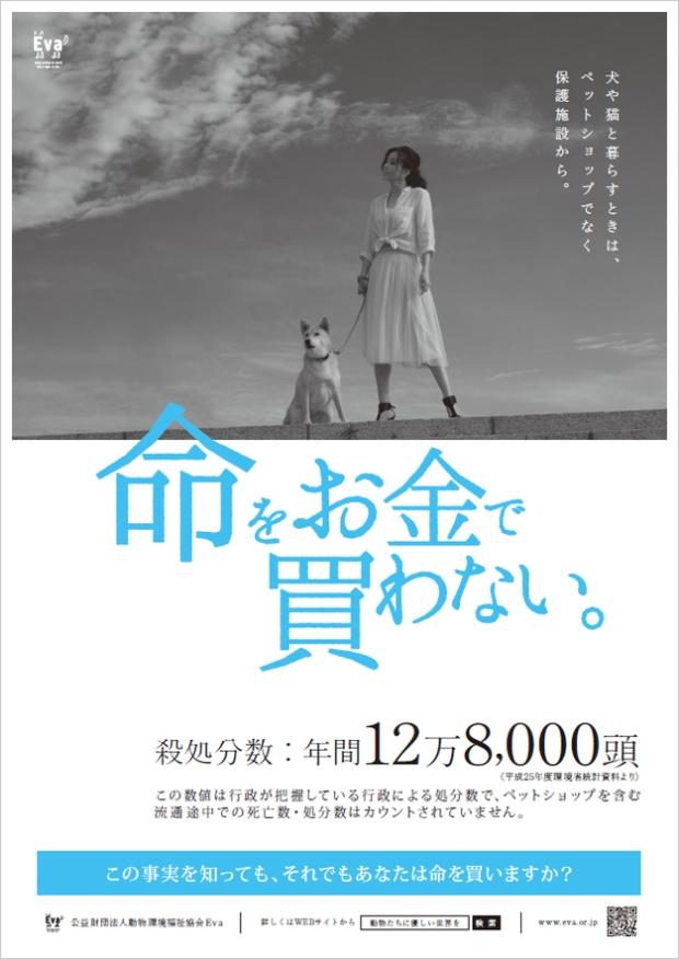 Aya Sugimoto EVA Poster Cover 01/2016 Photo by Hiro Sato