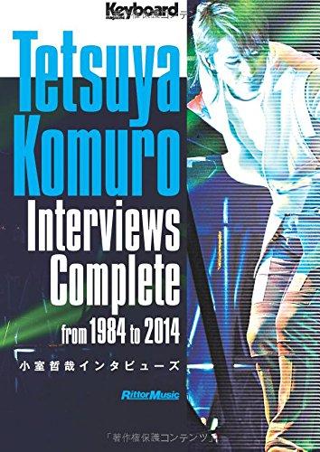 Keyboard Magazine Tetsuya Komuro Interviews Complete Released 07/26/2016 Photo by Hiro Sato