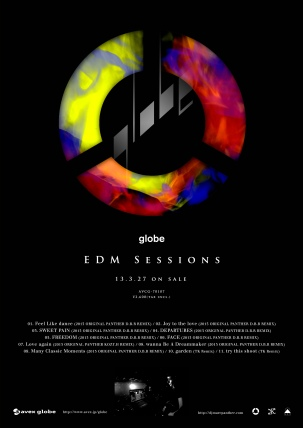 Globe/DJ Marc Panther [Album EDM Sessions] Avex Trax Photo by Hiro Sato