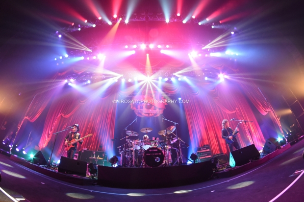 Tokyo, Japan - June 22: Legendary Rock Band Fence Of Defense performs at Shinagawa Stellar Ball on June 22, 2014 in Tokyo, Japan.(Photo by Hiro Sato)