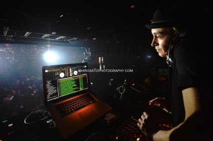 """Tokyo, Japan - December 02: DJ Marc Panther performing on December 02, 2012 in Tokyo, Japan. This photo was for a poster of a newly released album """"GLOBE EDM SESSIONS"""" from Avex Trax Records.(Photo by Hiro Sato)"""