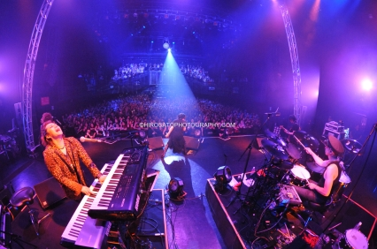 Tokyo, Japan - August 24: Rayflower performs at Akasaka Blitz on August 24, 2014 in Tokyo, Japan.(Photo by Hiro Sato)