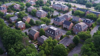 MEDICAL CLINIC REAL-ESTATE PROPERTY aerial photo drone